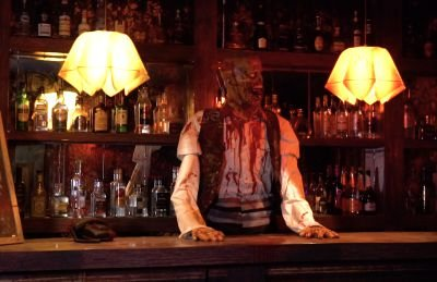 The zombie bartender